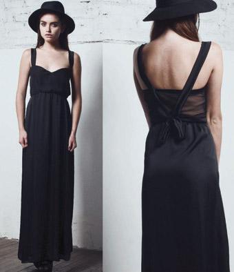 DROLE maxi vestido isabella