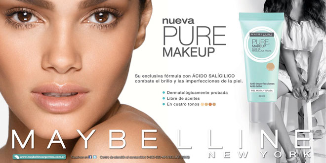 Maybelline New York Pure Make Up