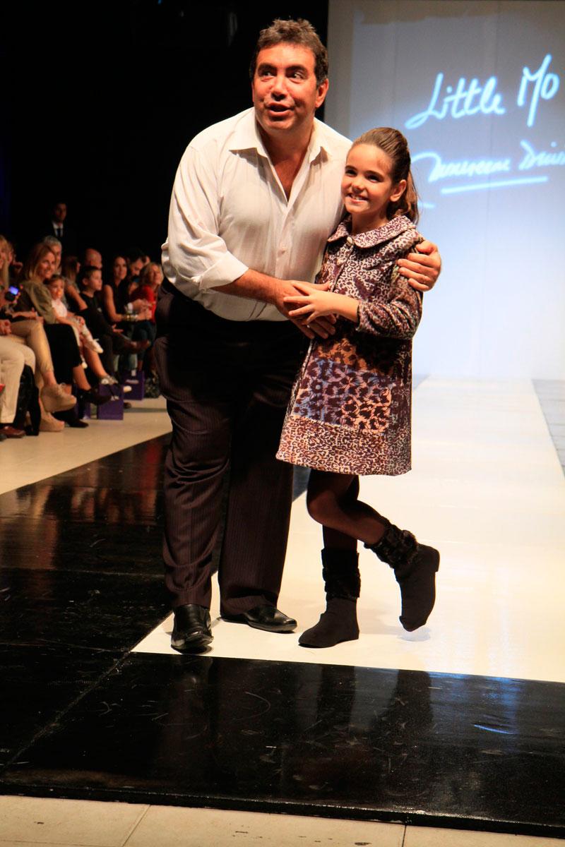 Diego Perez y su hija en Little Mo