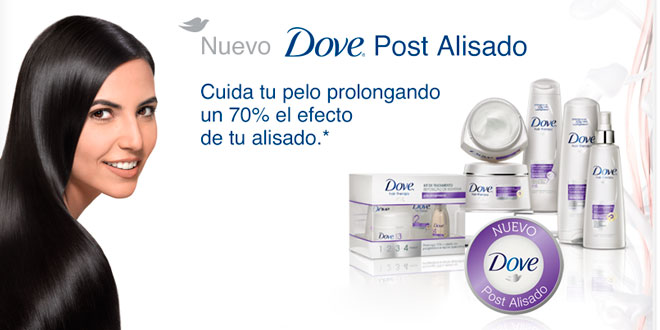 Dove Post Alisado
