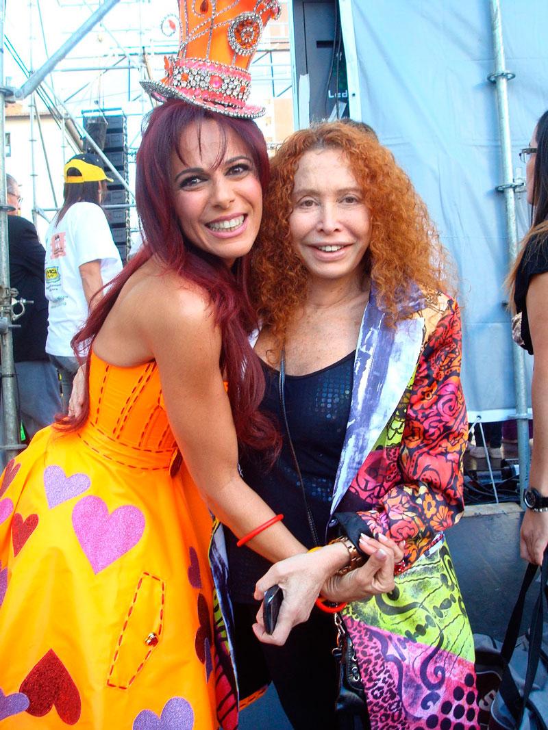Ileana Calabro y Maureene Dinar