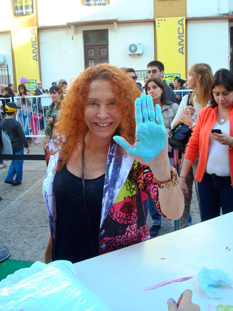Maureene Dinar - Caravana y Megafestival Solidario