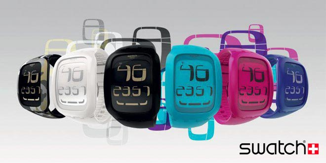 Swatch Touch Collection