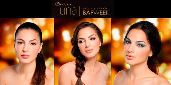 Natura maquillaje oficial del BafWeek