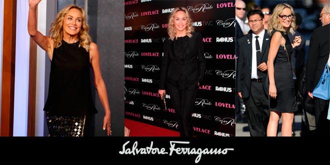 Sharon Stone by Ferragamo